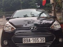 Bán ô tô Hyundai Grand i10 năm sản xuất 2016, màu đen giá 310 triệu tại Hà Nội
