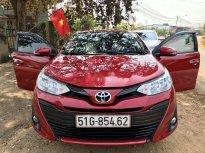 Cần bán lại xe Toyota Vios E AT sản xuất năm 2018, màu đỏ còn mới, giá tốt giá 525 triệu tại Đắk Lắk