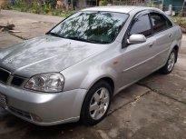 Bán ô tô Daewoo Lacetti MT sản xuất 2004, màu bạc, xe nhập số sàn giá 119 triệu tại Bắc Ninh