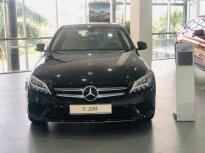 Bán Mercedes C200 2019 cũ, màu đen nội thất kem giá 1 tỷ 400 tr tại Tp.HCM