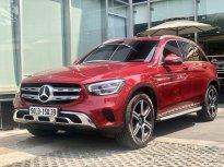 [Hot] Mercedes-Benz GLC200 4Matic 2020 cũ, màu đỏ, đi lướt chính hãng giá 2 tỷ 30 tr tại Tp.HCM