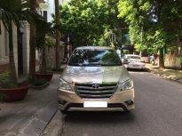 Tôi cần bán chiếc xe ô tô Toyota Innova 2.0E màu ghi vàng, model 2016 giá 415 triệu tại Hà Nội