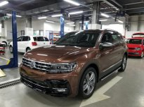 Bán xe Volkswagen Tiguan Luxury Topline đời 2019, màu nâu, nhập khẩu  giá 1 tỷ 799 tr tại Quảng Ninh