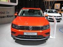Volkswagen Tiguan Allspace Luxury màu cam giá 1 tỷ 850 tr tại Quảng Ninh