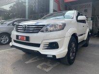 Xe Toyota Fortuner TRD 2 Cầu 2015, màu trắng Siêu Chất Chạy 50.000km GIá CỰC TỐT giá 750 triệu tại Tp.HCM