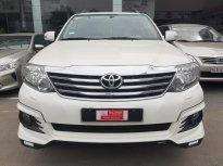 Bán xe Toyota Fortuner 2.7V TRD 2 Cầu sản xuất 2016, màu trắng siêu chất - Giá báo tốt giá 800 triệu tại Tp.HCM