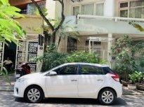 Toyota Yaris màu trắng, bản G full option, nhập khẩu, đăng ký Chính Chủ 2016 xe nhà sử dụng. Máy chất giá 480 triệu tại Hà Nội