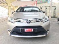 Bán ô tô Toyota Vios G đời 2015,Màu Nâu Vàng Siêu chất Mới Chạy 34.000km Máy MÓc Êm ru giá 470 triệu tại Tp.HCM