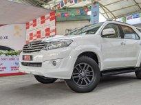 Bán xe Toyota Fortuner 2.4G 2016, màu trắng Biển SG odo 168.000km -Giá tốt giá 690 triệu tại Tp.HCM