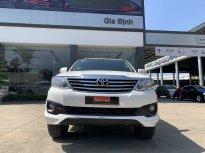 Cần bán gấp Toyota Fortuner 2.7V TRD Bản Thể Thao đời 2015, màu trắng chuẩn chỉ 35.000km giá 760 triệu tại Tp.HCM