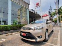 Cần bán lại xe Toyota Vios 1.5E CVT sản xuất 2017, màu nâu giá 490 triệu tại Tp.HCM