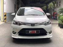 Cần bán Toyota Vios 1.5 TRD đời 2018, màu trắng,Biển SG - chuẩn 36.000km  giá 570 triệu tại Tp.HCM