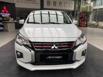 Bán Mitsubishi Attrage CVT đời 2021, màu trắng, nhập khẩu chính hãng giá cạnh tranh giá 460 triệu tại Hà Nội