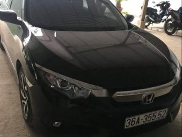 Cần bán gấp Honda Civic 1.8E sản xuất năm 2018, màu đen như mới, giá chỉ 810 triệu